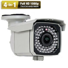 AM HD-TVI Sony CMOS 2.6MP 1080P 2.8-12mm Varifocal Zoom Outdoor Security Camera