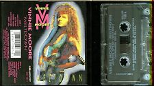 Vinnie Moore Meltdown USA Cassette Tape shred guitar