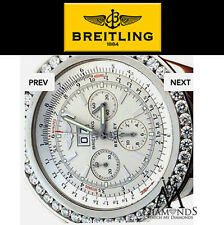 Diamond Breitling for Bentley / Breitling Bentley 6.75 White Dial 52mm Stainless