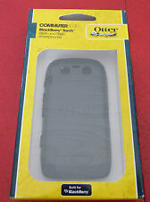 Authentic! OtterBox Commuter Blackberry Torch 9850 & 9860 Black Silicone Case