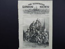 Illustrated London News Cover S7#50 Dec1871 Famine In Persia Starving At Shiraz