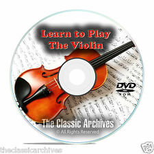 Learn How To Play the Violin, Fiddle Beginner Instruction Tutorial Video DVD E93