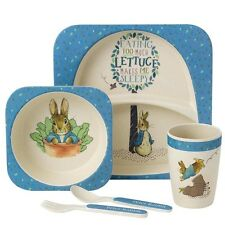 Beatrix Potter Peter Rabbit Nursery Baby Organic Dinner Gift Set A27754