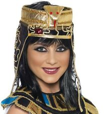 Onorevoli Egyptian FANCY DRESS HEADDRESS Copricapo CLEOPATRA Cappello Nuovo Da Smiffys