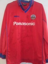 Huddersfield Town 2000-2001 Squad Signed Away Football Shirt with COA /40903