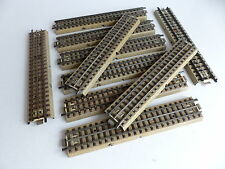 MARKLIN VOIE M RAIL CENTRAL 10 RAILS DROITS 180 MM