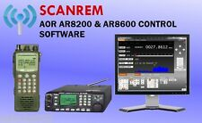 Scanrem - AOR AR8200 & AR8600 Computer Control Scanner Software (licence only)