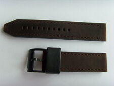 Fossil repuesto original ch2782 pulsera de cuero uhrband watch Strap marrón 22 mm