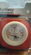 New Veethree Instruments 68367E Oil Pressure Nanometer Arctic White