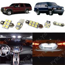 16x White LED lights interior package kit for 1995-1999 Chevy/GMC Suburban CS2W