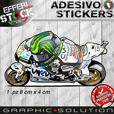 Adesivi Sticker Mascotte cartoon CRUTCHLOW CAL 35 MOTOGP HONDA RCV TOP QUALITY!
