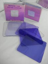 (PRL) x PORTAFILTRI LEE HOLDER SET 8 FILTRI FILTERS FILTRES BLU BLUE SERIE 10 cm