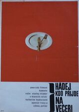 GUESS WHO'S COMING TO DINNER? Czech A3 movie poster 11x16 SIDNEY POITIER