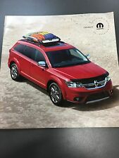 2017 DODGE JOURNEY ACCESSORIES 12-page Original Sales Brochure