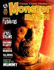 MONSTER BASH #28 MUMMY Munsters Bela Lugosi ED WOOD Abbott Costello MAGAZINE New