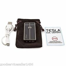 Tesla Coil Lighters USB Rechargeable Windproof electri Lighter Modern Great Gift