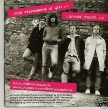 (135P) The Brascoes, First Impressions Of You - DJ CD