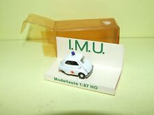 BMW ISETTA MEDICAL ROT KREUZ IMU 03444 HO 1:87