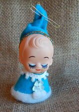 Vintage Pixie Baby Elf Christmas Ornament Made in Japan #012