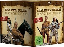 KARL MAY KLASSIKEREDITION (Lex Barker, Pierre Brice) 16 Blu-ray Discs NEU+OVP