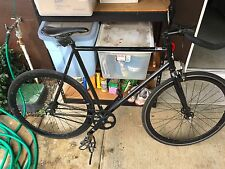 Black Fixie Bike with Extra Tube, Toolkit, Lock, & 50$ Gift Certificate