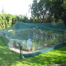 robustes Teichnetz 8 x 12 m Laubnetz Vogelschutznetz Reiherschutz Laubschutznetz