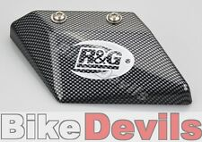 Kawasaki ZZR1400 2006-2011 R&G racing carbon look toe chain guard