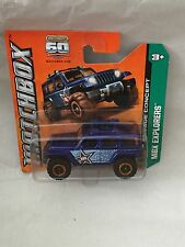 MATCHBOX JEEP RESCURE CONCEPT NEU NEW OVP SHORT CARD