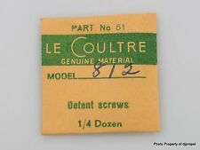 Jaeger LeCoultre Set Lever (Detent) Screw Cal. 812 Part #5443 (51)