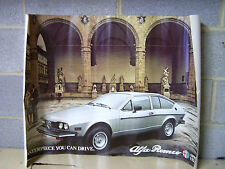 Alfa Romeo Sprint Veloce Original Large 24X36 Vintage Showroom? Poster Exc+ Cond