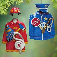 FIREMAN JACKET ORNAMENT HAT & ACCESSORIES great sale NEW deluxe