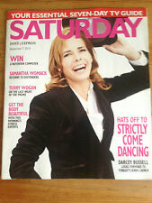 NEW SATURDAY MAGAZINE DARCEY BUSSELL William Simons Samantha Womack Denise Welch