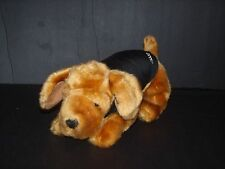 Champ Georgia Sheriff's Association Brown Dog Plush Bean Bag Stuffed Animal 12""