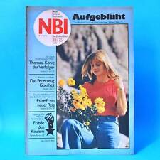 NBI 38/1975 DDR Dida Dragan AN 30 Demen Tagebau Senftenberg Rudern Schneidenbach