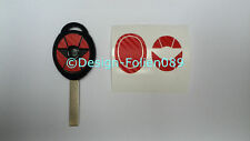Carbon Red Film Decor Key Key Cooper JCW S Mini R53 John Works