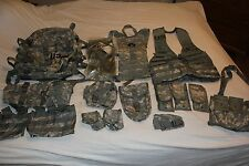 Rifleman Set MOLLE II ACU Army Set Assault Pack FLC Hydration System Waist Pack