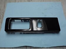 OEM 2004 Lincoln LS Piano Black Front Driver's Side Headlight Control Bezel
