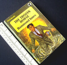 1950s Vintage Pan Paperback Novel. The Trojan Horse. Hammond Innes