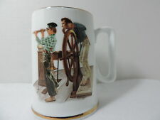 River Pilot - Coffee Mug Inspired by the Art of Norman Rockwell
