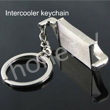 Auto Parts Model Intercooler keychain keyring key chain Ring key Fob Free