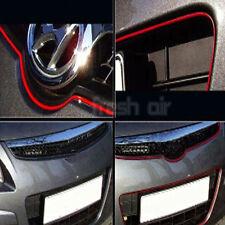 5M RED FLEXIBLE TRIM FOR CAR INTERIOR EXTERIOR MOULDING STRIP DECORATIVE LINE