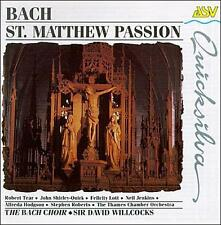 Bach: St. Matthew's Passion by