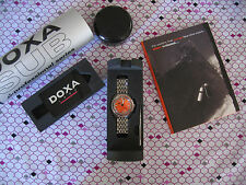 Limited Ed. Doxa SUB 1200T Professional Dive Watch w/ Boxes, Papers and DVD