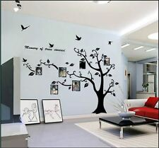 Wall stickers Photo frame family tree Decor Vinyl Decal Mural home Kids large
