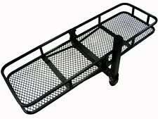 60x20 Folding Luggage Cargo Basket Carrier Truck SUV Trailer Receiver Hitch Rack