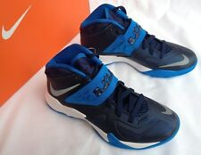 new Nike Zoom Soldier VII Lebron James 610343-400 Blu Basketball Shoes Women's 6