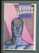 "THE SILVER SURFER ""PARABLE"" HARDCOVER STAN LEE MOEBIUS 1988 1ST PRINT (9.2)"