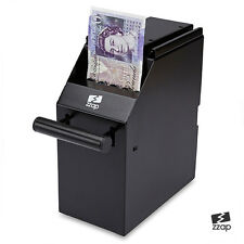 SOTTO BANCO CASSA CACHE BANCONOTE NOTE SOLDI POS POINT OF SALE SICURE SCATOLA