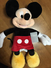 """DISNEY Store Exclusive 17"""" MICKEY MOUSE Stuffed LARGE Plush Toy Doll - NWT"""