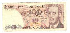 Polen Banknote 100 Zloty 1988